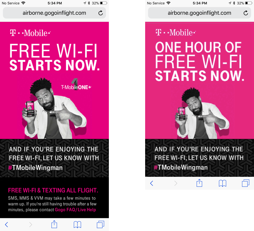 T-Mobile's One+ Plan Now Includes Unlimited Gogo In-Flight