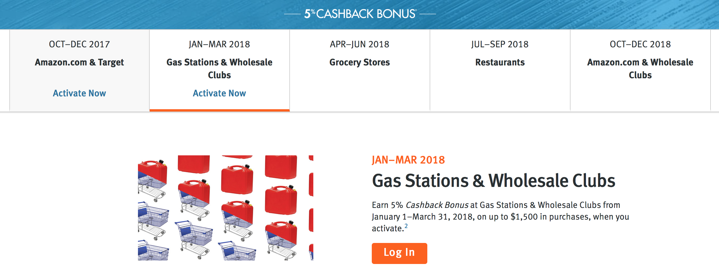 Discover it® Quarterly Bonuses, Q7 2078: Earn 7% Back at Gas