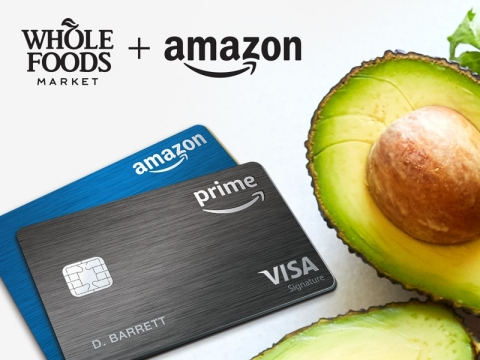 Amazon Prime Rewards Cardholders Now Earn 5% Back at Whole